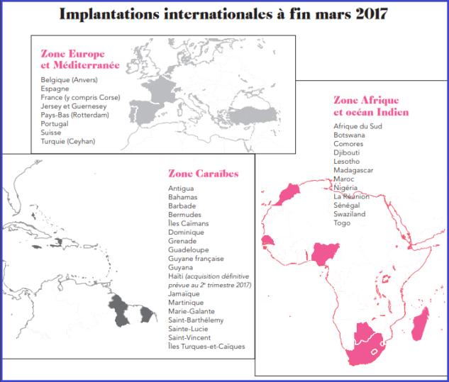 Rubis répartition géographique